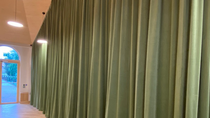 On Stage Solutions | Drapes | Morden College, Blackheath